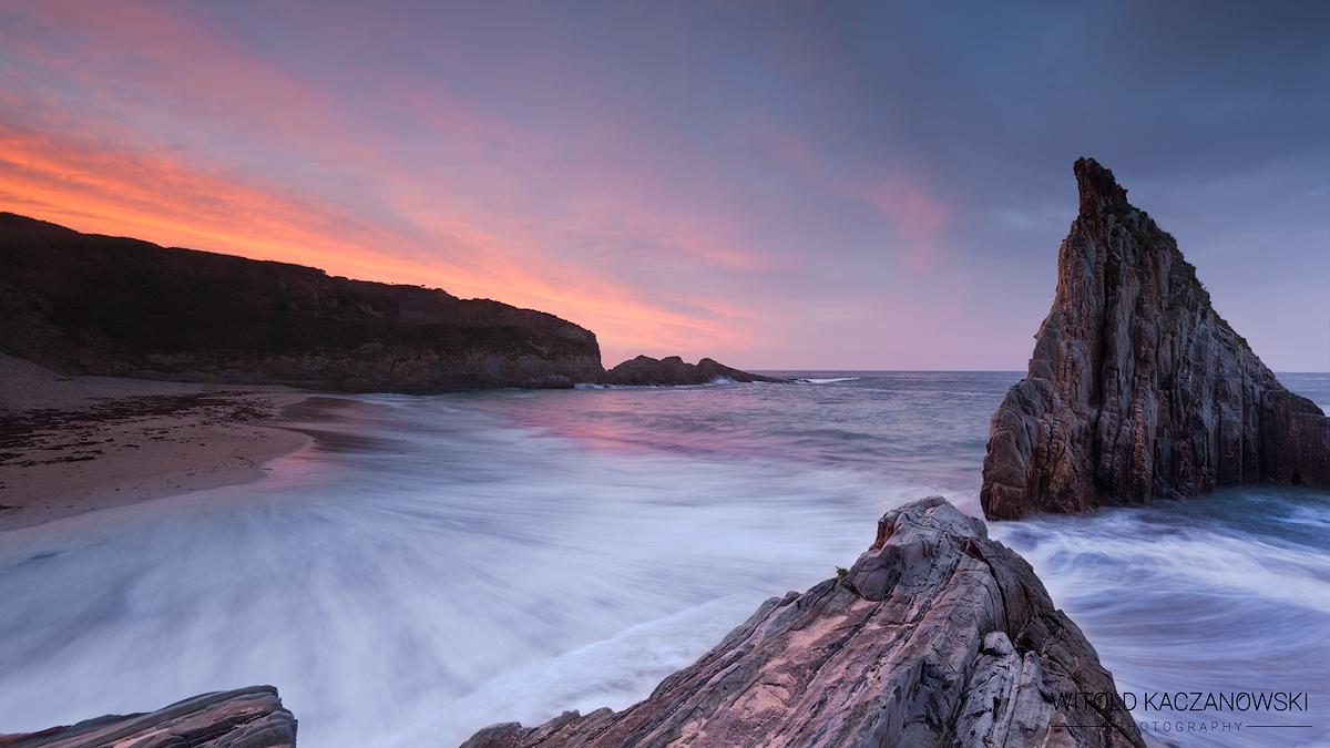 Mexota Beach (Asturias, Spain)