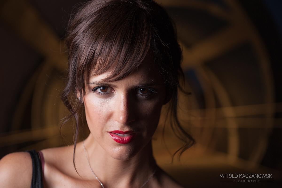 Portrait at Arganzuela Footbridge (Madrid, Spain)
