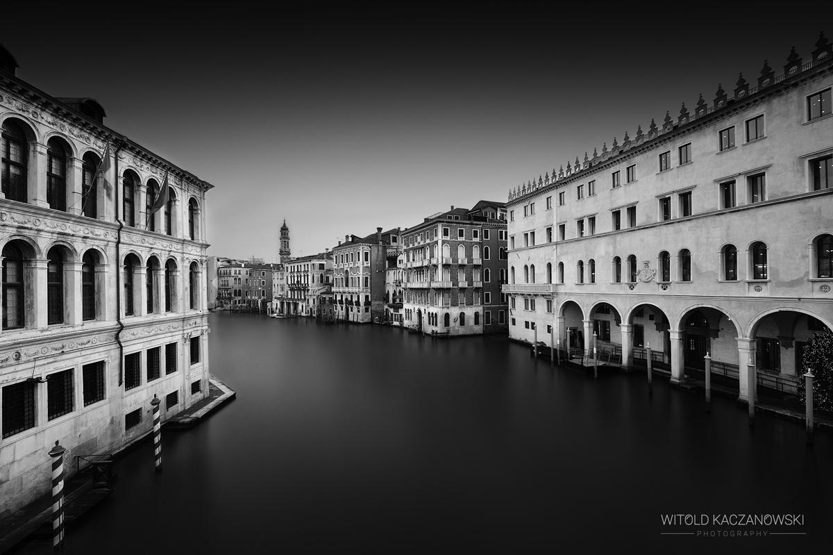 View from Rialto Bridge (Venice, Italy)