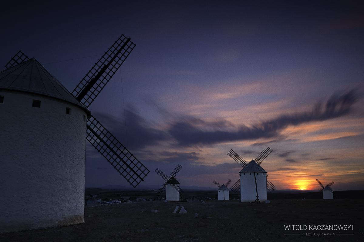 La Mancha Windmills (Campo de Criptana, Spain)